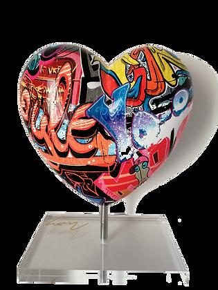 Le cœur Graffit