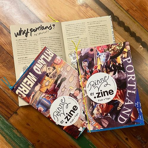 RINNE ZINE Vol.1 (ポートランド合宿編)自費出版マガジン