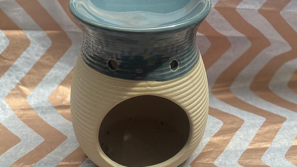 Ribbed Melt Warmer (Petrol Blue)