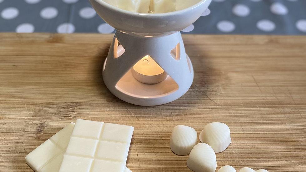 Bowl wax melt burner (white)
