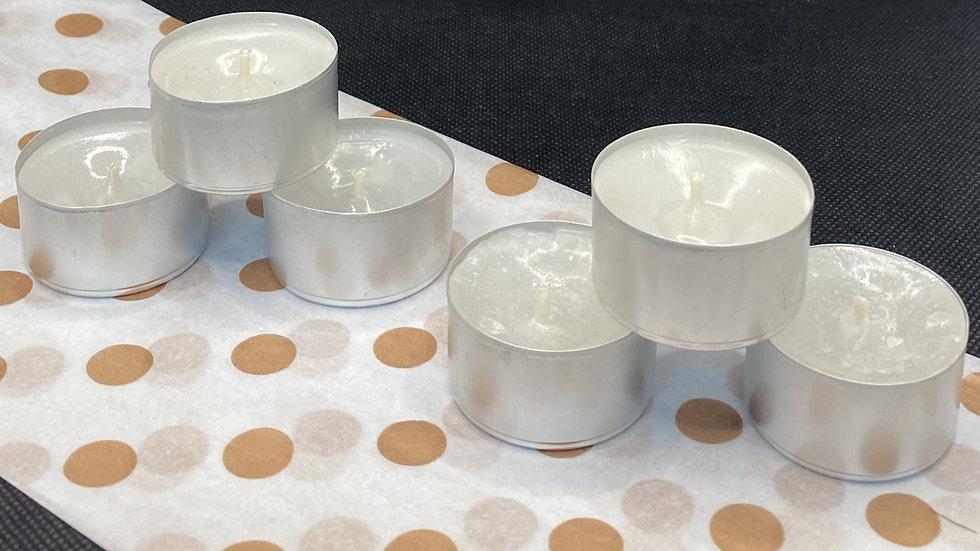 Unscented tea lights (x12)