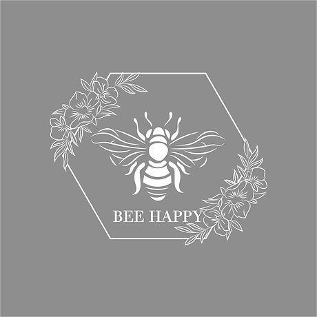 Bee Happy Gray smaller.jpeg