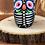 Thumbnail: Hand-painted Owl Skeleton Ceramic