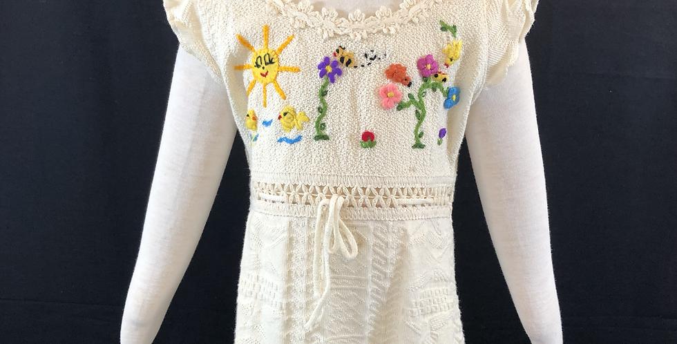 Children's Knit Dress 100% Cotton