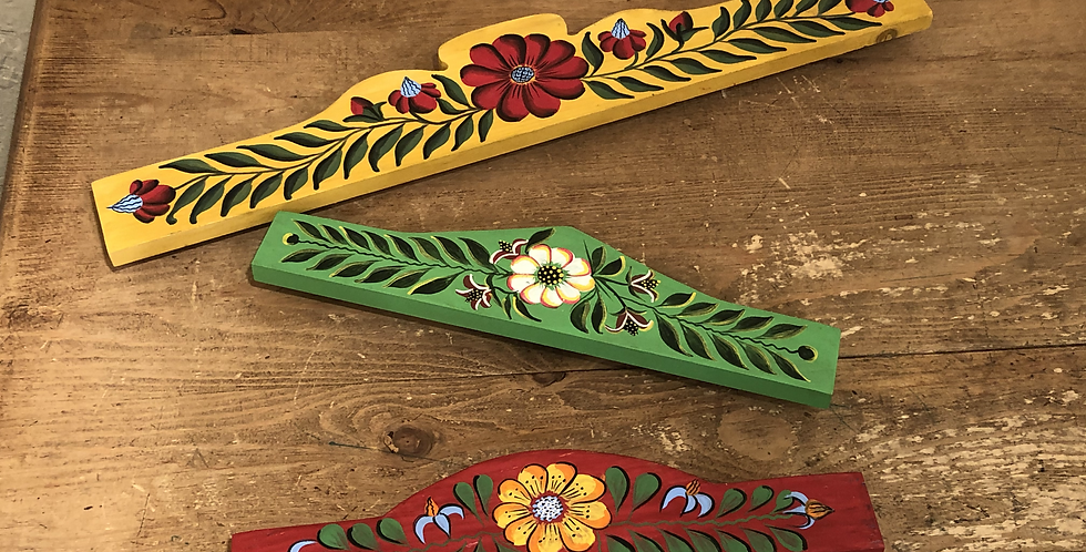 Hand-painted Tapestry Hanger