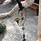 Thumbnail: Metal Hummingbird Wind-chime with Heavy Glass Beads