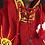 Thumbnail: Children's Hooded Peruvian Hand-appliquéd Poncho