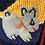 Thumbnail: Children's Hooded Zip-up Peruvian Hand-appliquéd Sweater