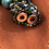 Thumbnail: Hand-beaded Turquoise Stones & Glass Necklace with Magnetic Clasp