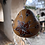 Thumbnail: Peruvian Gourd Hanging Ornament with Hummingbird & Lily