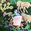 "Thumbnail: Long Hand-sewn Peruvian Tapestry ""Cierra"""