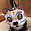 Thumbnail: Hand-painted Cat Skeleton Ceramic