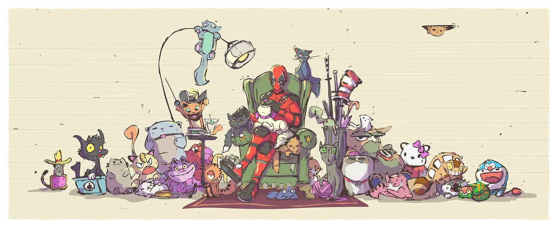 Deadpool & Cats