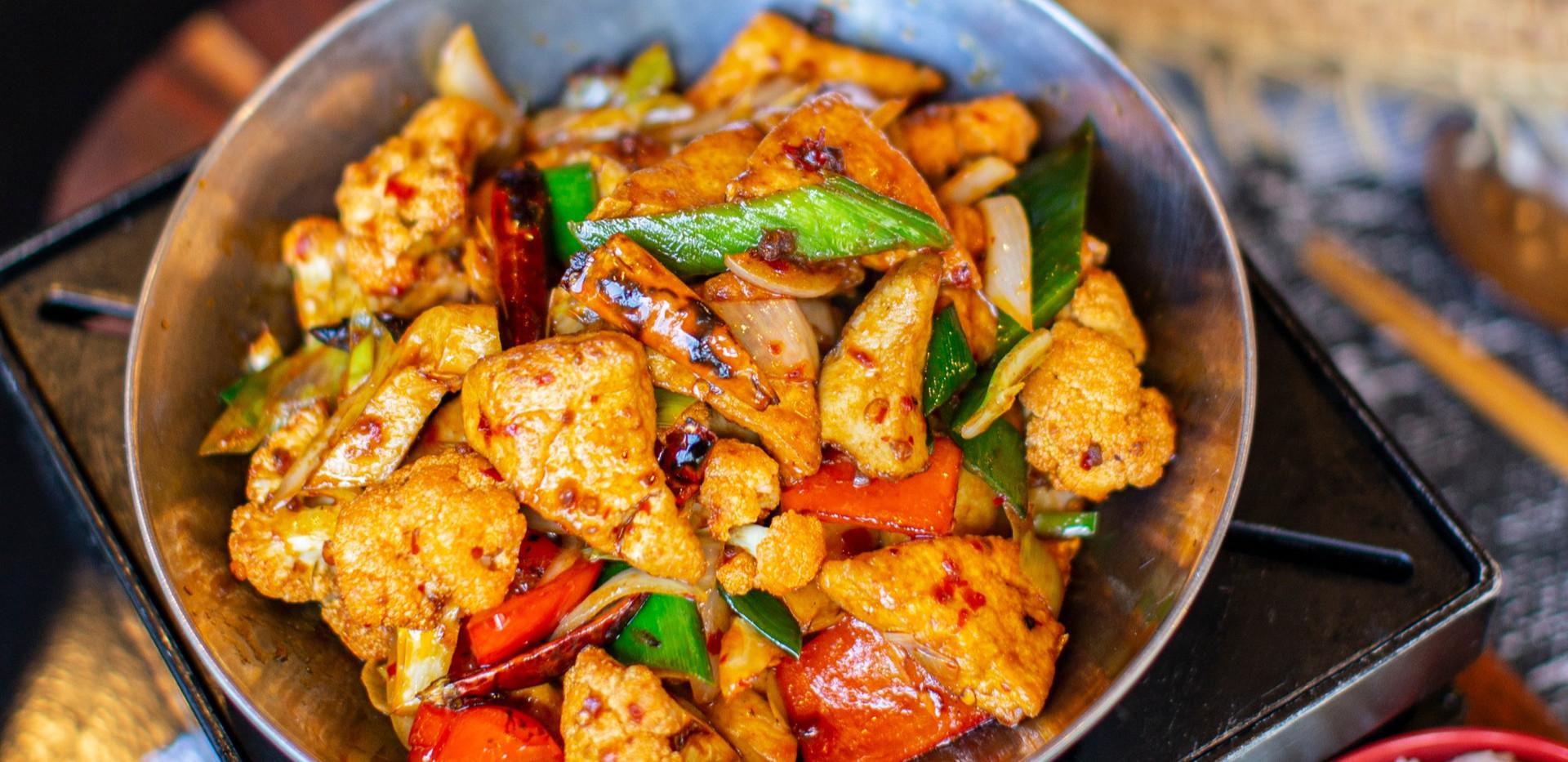 Dry Sizzling Pot Tofu