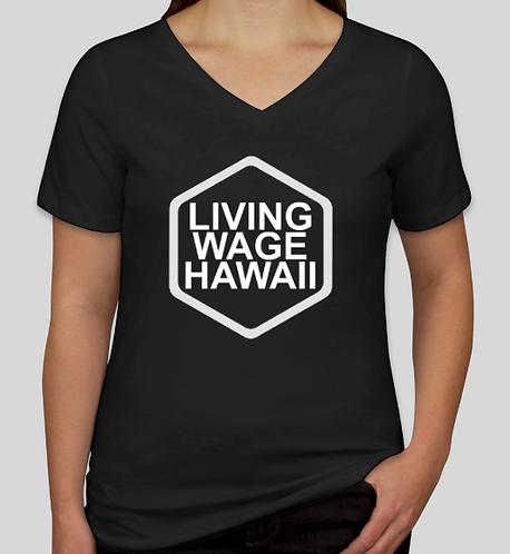 Living Wage Hawaii Tee