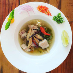 Spicy Pork Ribs Soup