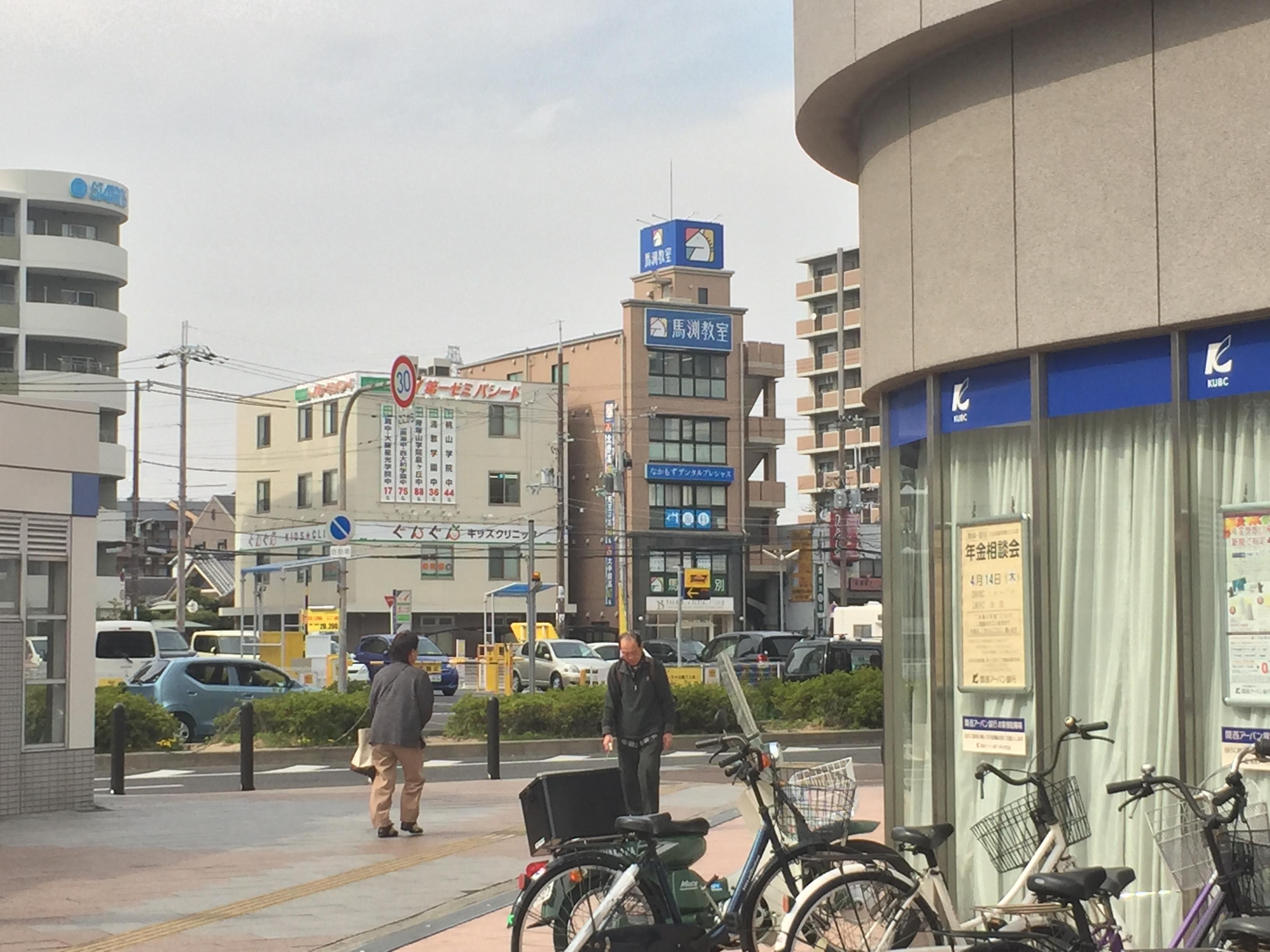 関西アーバン銀行の角