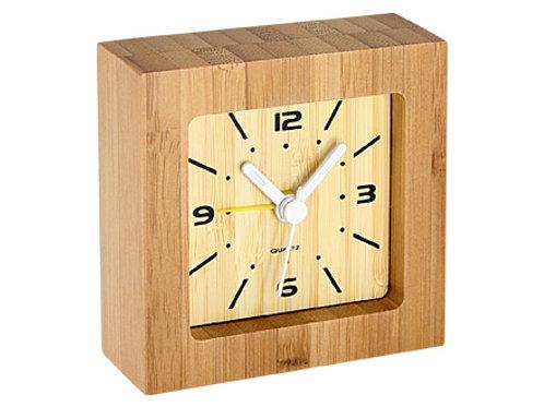 00506     Reloj despertador bambú