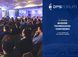DPS FORUM - ONLY A WEEK LEFT. LET 'S MEET AT THE CONFERENCE
