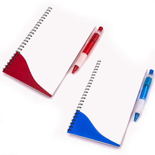 00233     Cuaderno con lápiz