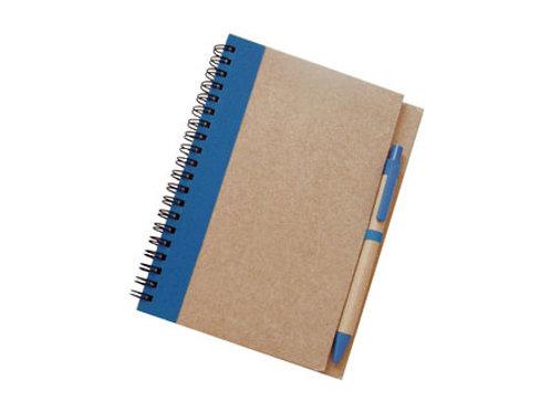 00348     Libreta ecológica con lápiz