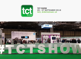 TCT SHOW BIRMINGHAM/UK 2018 ONE OF THE MOST IMPORTANT EVENTS