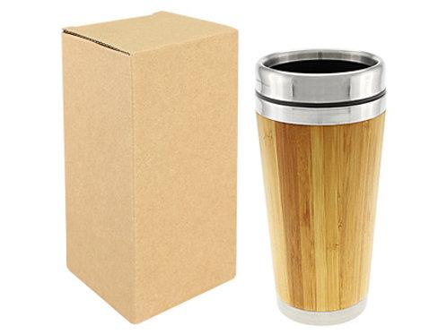00158     Mug de bambú, 420cc.