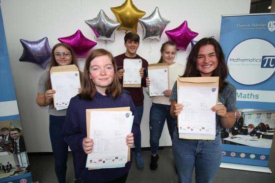 DACA Students Celebrate GCSE Results