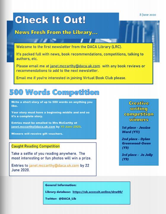 LRC Newsletter - Edition 1