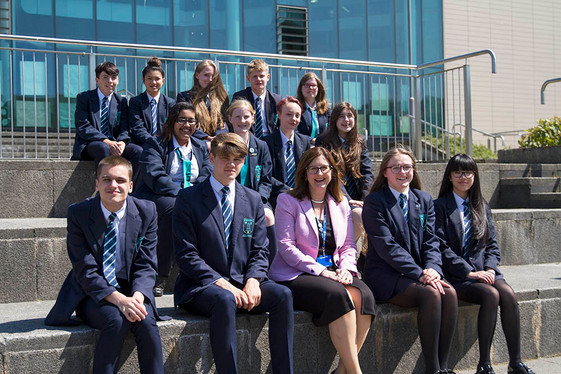 Congratulations To Our Newly Elected Head Boy & Girl