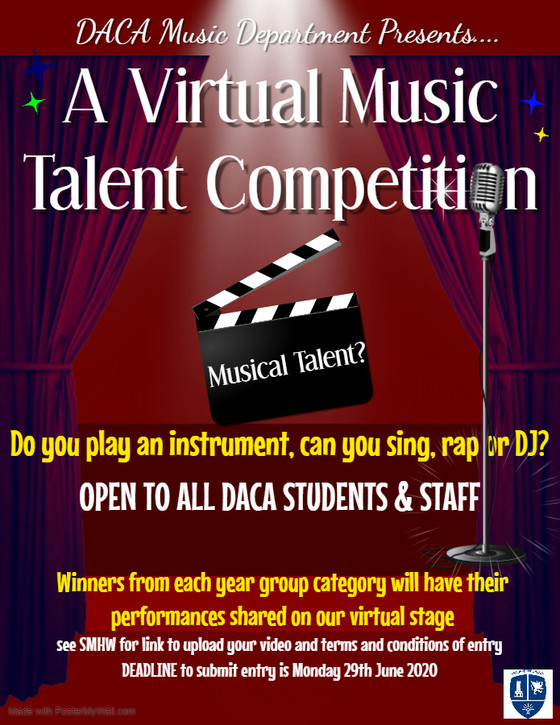 Virtual Music Talent Competition