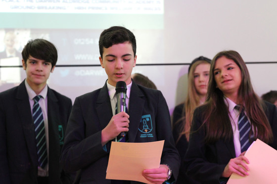 Year 8 Commendation Assembly