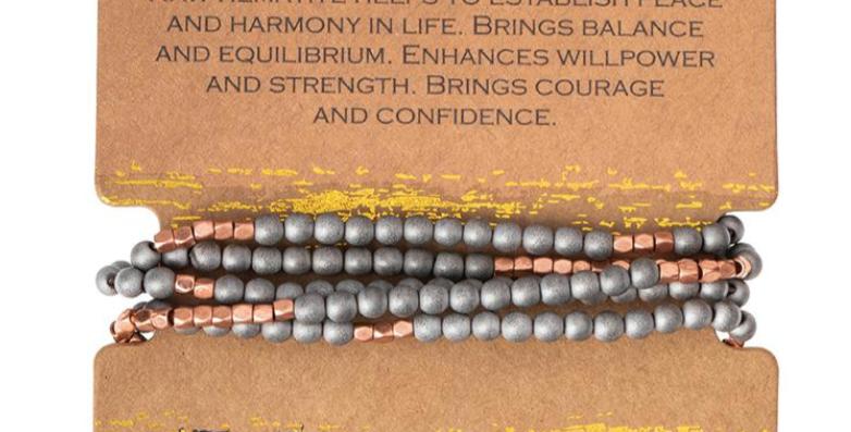 Hematite-Stone of Balance