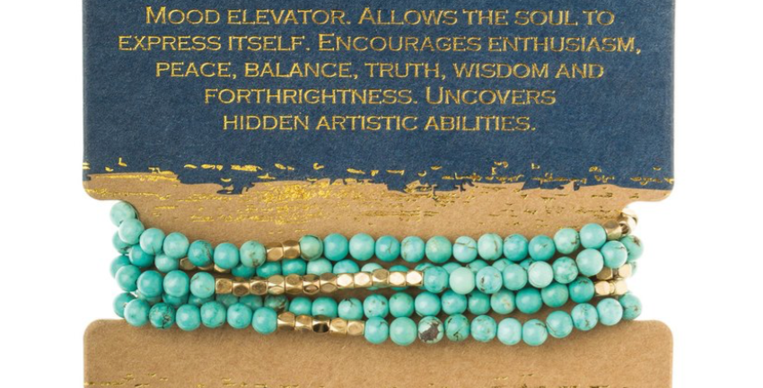 Turquoise-Stone of the Sky(Gold)