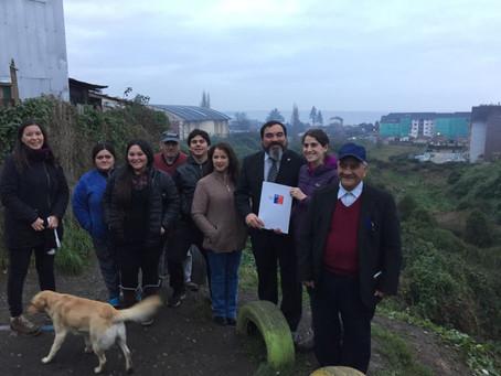 Bienes Nacionales entregó concesión a Patagua para habilitar parque en Quebrada Honda