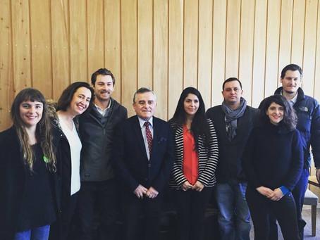 Municipalidad P. Varas firma convenio con Urbanismo Social para avanzar en proyecto Quebrada Parque