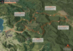 Coppermine Trail Map