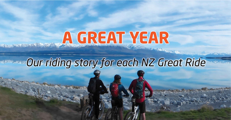 A Great Year - Our Riding Story for each Great Ride