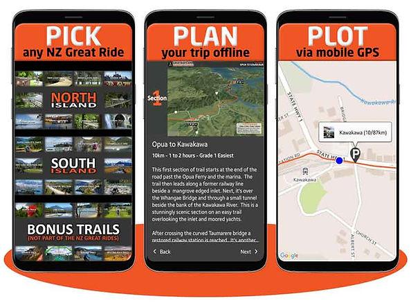 Pick, Plan, Plot your ride
