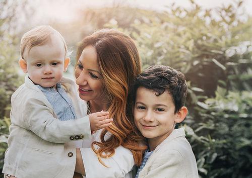 Outdoor Children and Newborn photography