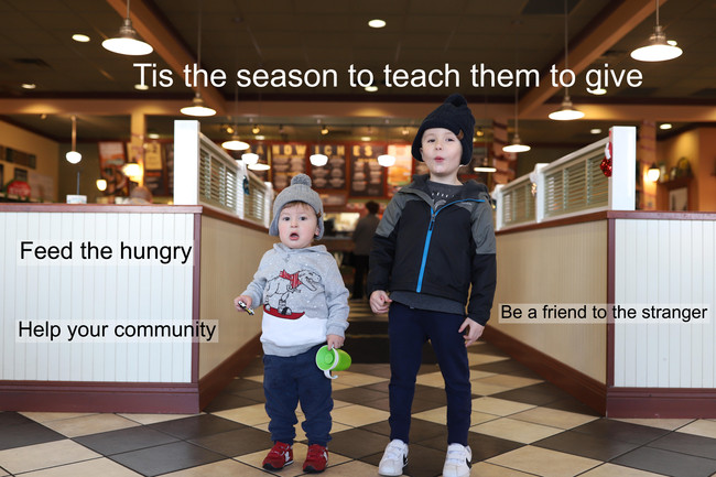 How to support your community this holiday season.