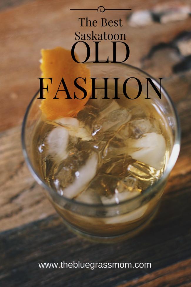The Best Saskatoon Old Fashion