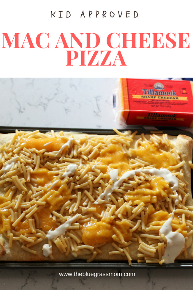 Mac and Cheese Pizza with Tillamook