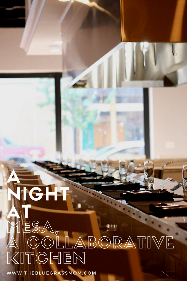 A Night at Mesa, A Collaborative Kitchen
