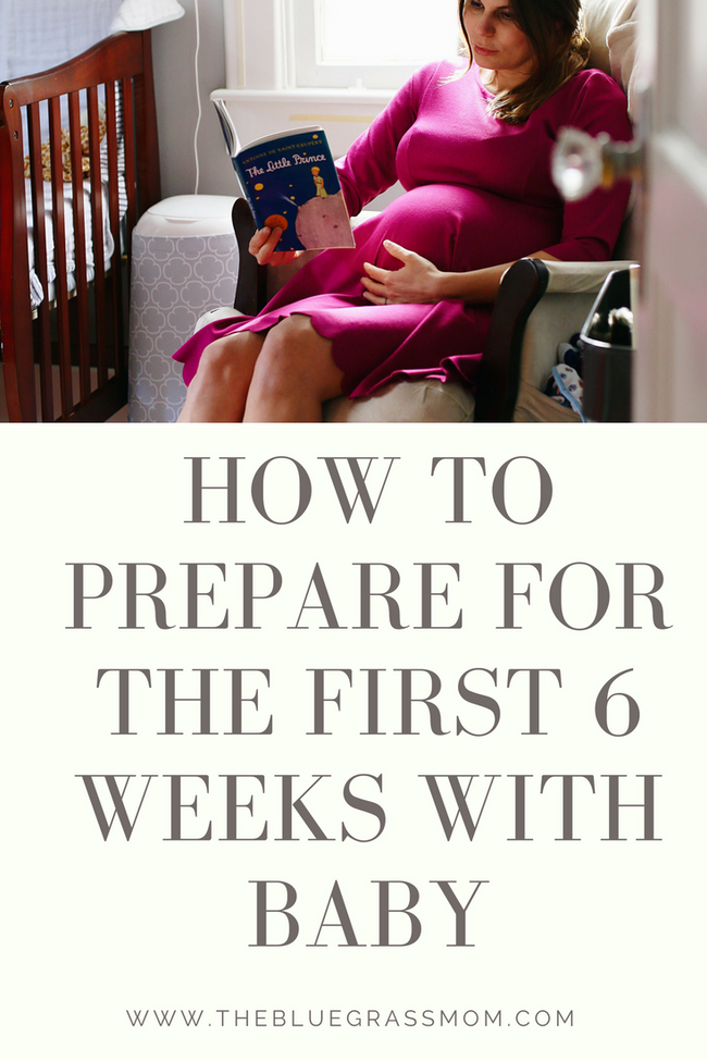 How to Prepare for the first 6 weeks with Baby #ForBetterBeginnings