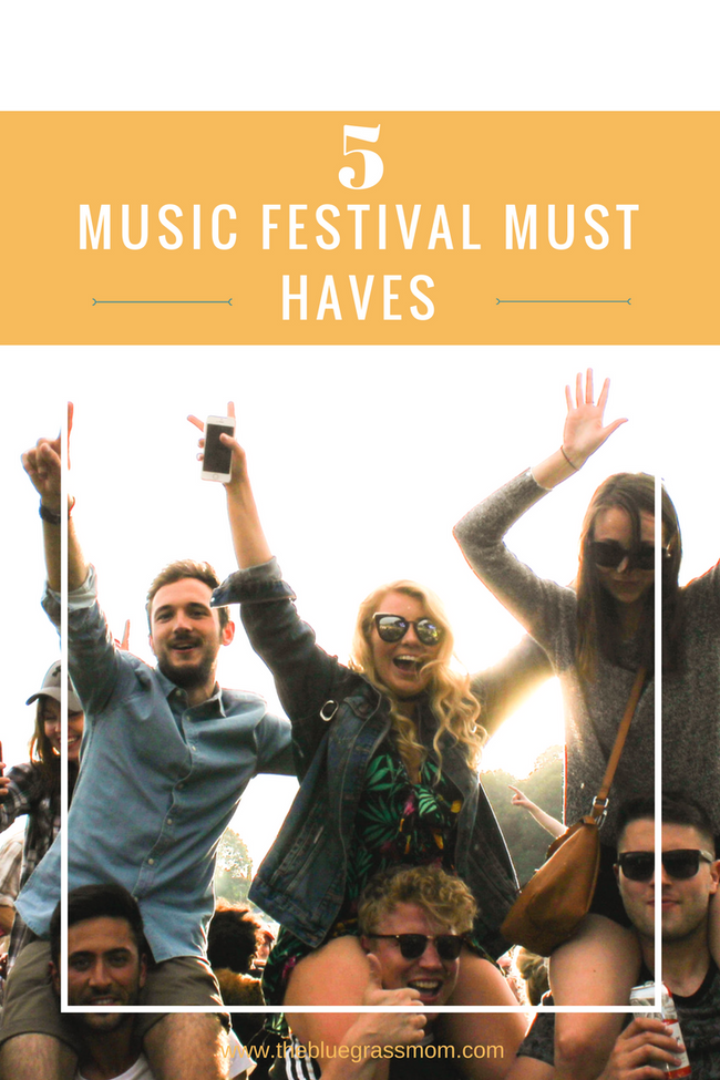 5 Music Festival Must Haves