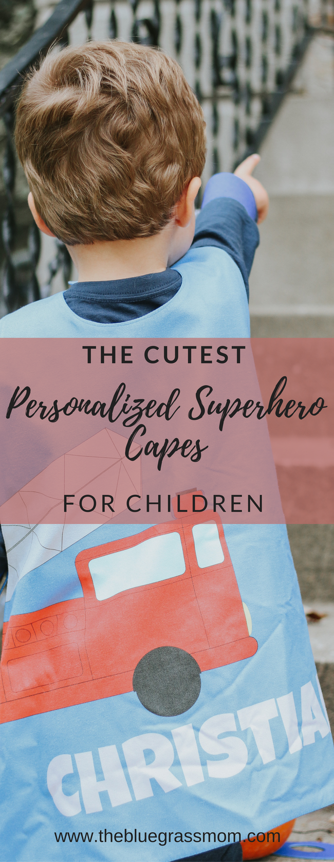 Shop with a Purpose: Personalized Superhero Capes for Children