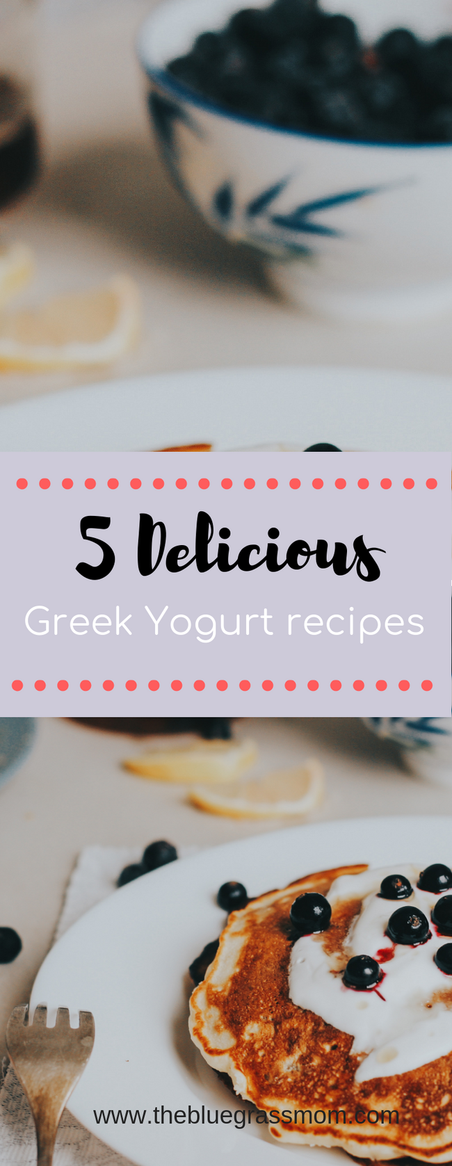 5 Healthy Recipes with Greek Yogurt.