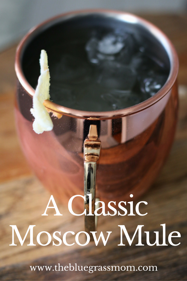 A Classic Moscow Mule.