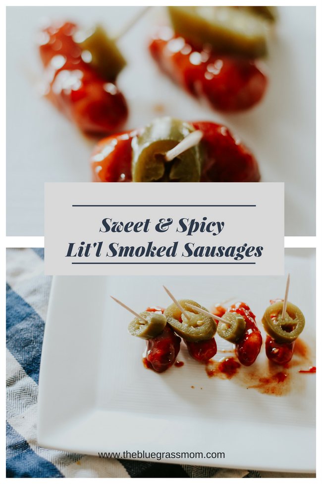 Sweet and Spicy Lit'l Smokies Smoked Sausages